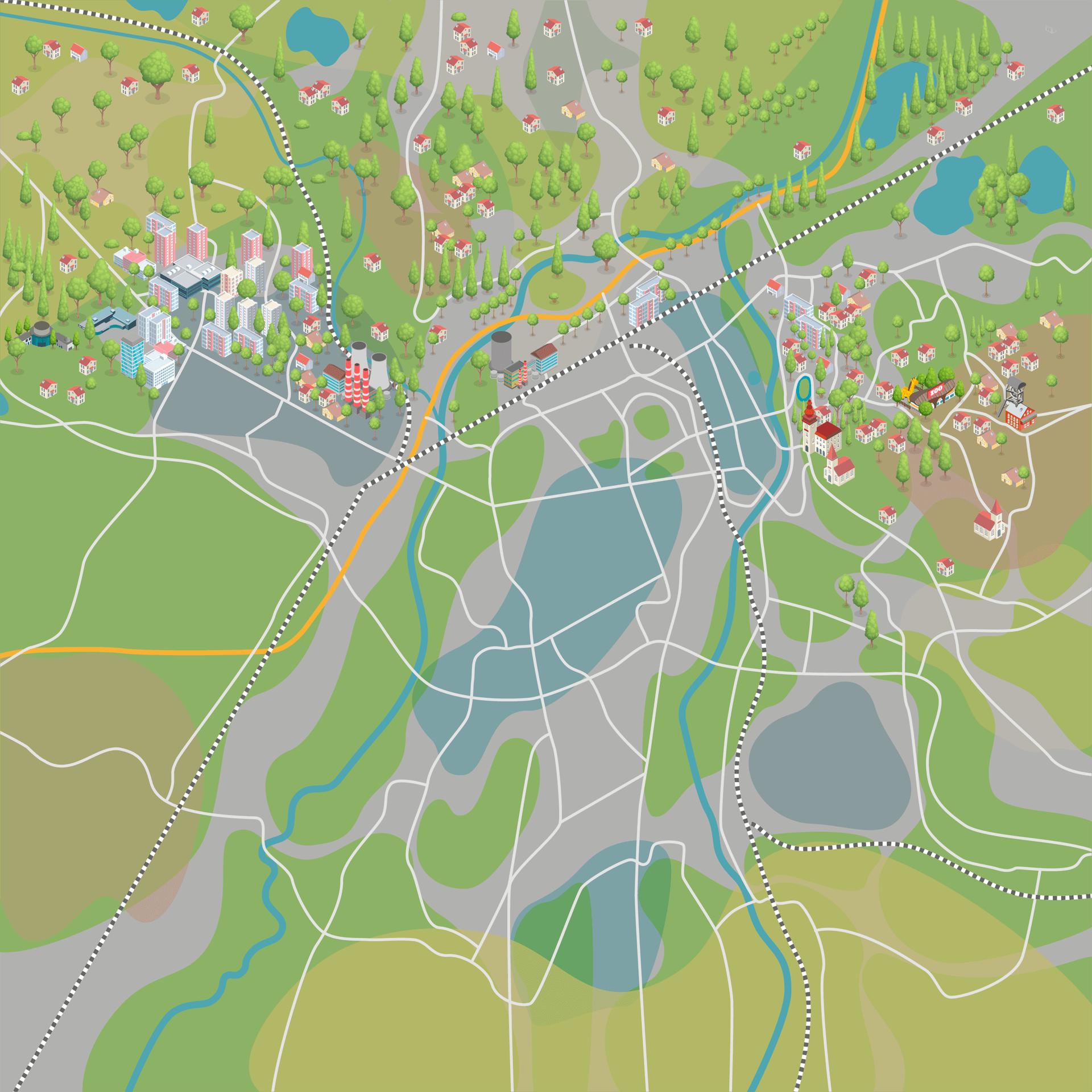 default mapa