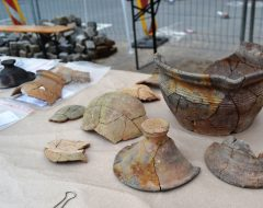 Nové Lauby - archeological research, the findings