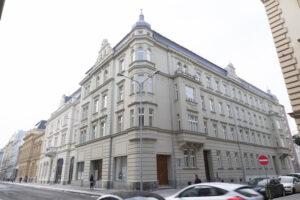 The new façade